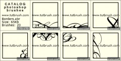 Декоративна рамка - превью кисти фотошоп