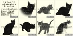 Кіт - прев`ю кисті фотошоп