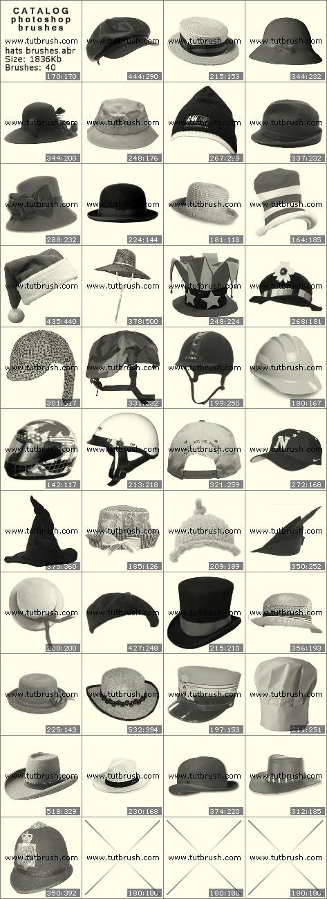 Photoshop brushes Headwear