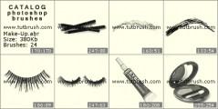 макияж - превью кисти фотошоп