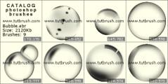 пузыри - превью кисти фотошоп