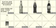 бутылка содовой - превью кисти фотошоп