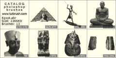 Фараон - прев`ю кисті фотошоп