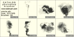 Клубки диму - прев`ю кисті фотошоп
