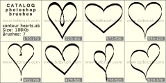 contour hearts