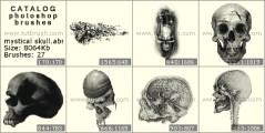 Mystical skull