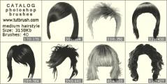 Середні жіночі зачіски