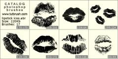 Поцілунок помадою