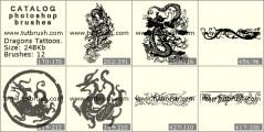Татуировки драконов
