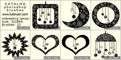 lamp heart