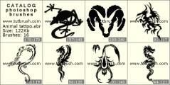 Татуировки животных